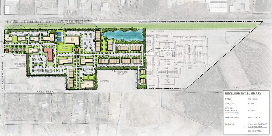 Town Center Site Plan