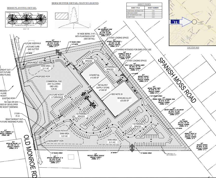 Sun Valley Station Site Plan