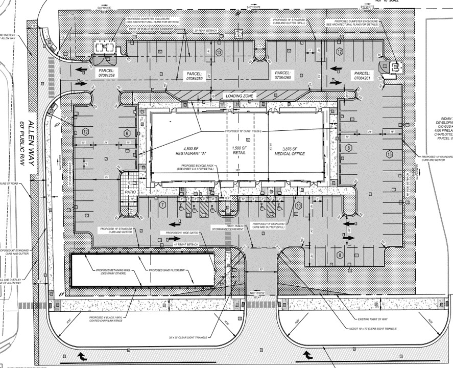Independence Point Site Plan